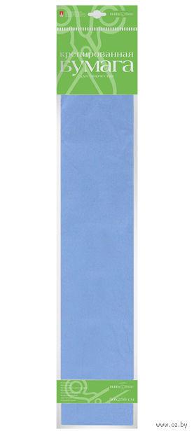 """Бумага креповая цветная """"Пастельные цвета"""" (50х250 см; нежно-голубая) — фото, картинка"""