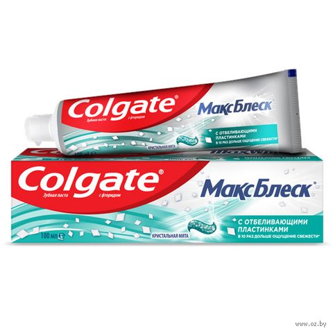 """Зубная пастa """"Max White. Кристальная мята"""" (100 мл) — фото, картинка"""