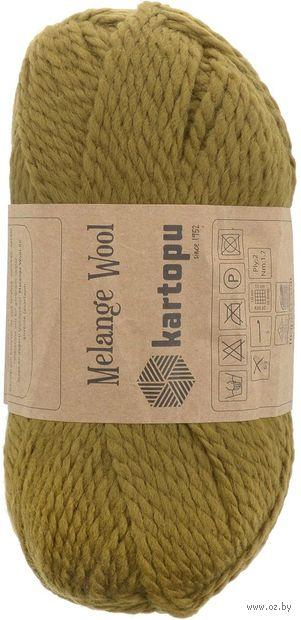 "Пряжа ""KARTOPU. Melange Wool №K4001"" (100 г; 170 м; горчица) — фото, картинка"
