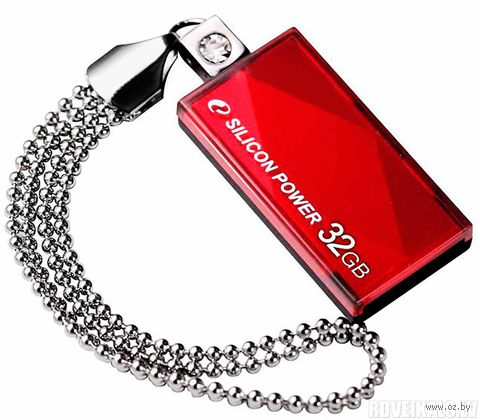 USB Flash Drive 32Gb Silicon Power Touch 810 (Red)