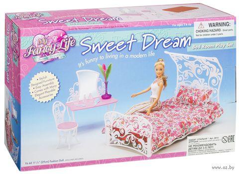 """Набор мебели для кукол """"Спальня"""""""