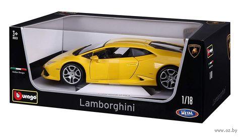"Модель машины ""Bburago. Lamborghini Huracan"" (масштаб: 1/18) — фото, картинка"