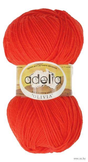 "Пряжа ""Adelia. Olivia №9"" (100 г; 250 м; ярко-оранжевый) — фото, картинка"
