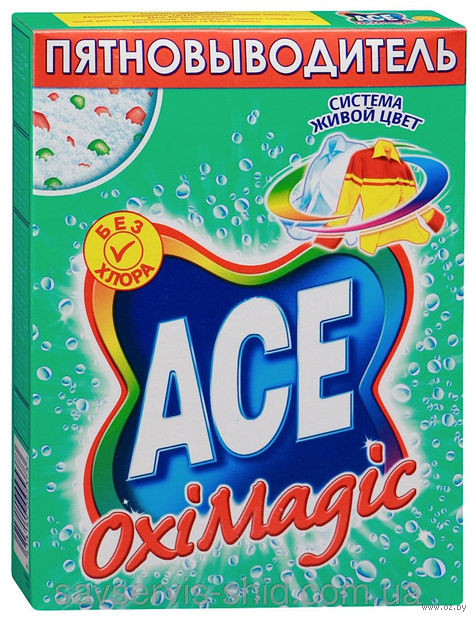 "Пятновыводитель ""ACE. OxiMagic"" (500 г.)"