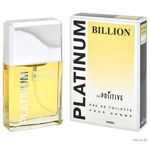 "Туалетная вода для мужчин ""Platinum. Billion"" (95 мл)"