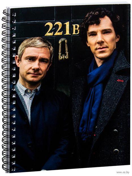 "Блокнот в клетку ""Шерлок"" (A5; арт. 353) — фото, картинка"