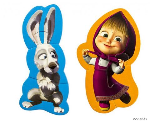 """Набор пазлов """"Маша и заяц"""" (7 элементов) — фото, картинка"""