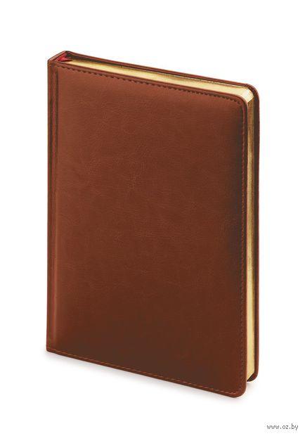 """Ежедневник недатированный """"Sidney Nebraska"""" (A4; коричневый) — фото, картинка"""