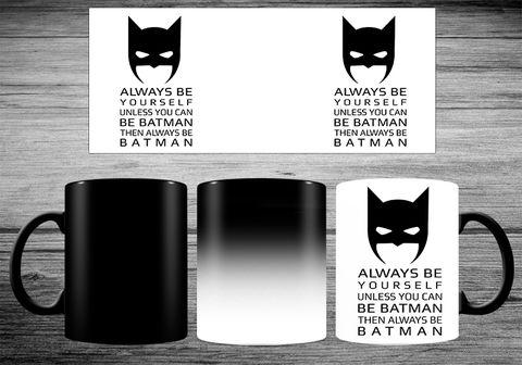 """Кружка-хамелеон """"Бэтмен"""" (арт. 1) — фото, картинка"""