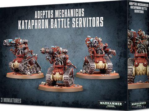 Warhammer 40.000. Adeptus Mechanicus. Kataphron Battle Servitors (59-14) — фото, картинка