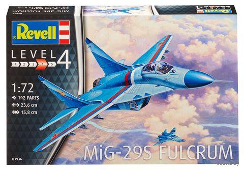 """Сборная модель """"Легкий фронтовой истребитель MiG-29S Fulcrum"""" (масштаб: 1/72) — фото, картинка"""