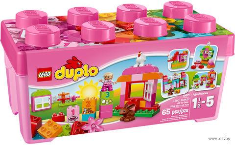 """LEGO Duplo """"Лучшие друзья: курочка и кролик"""""""