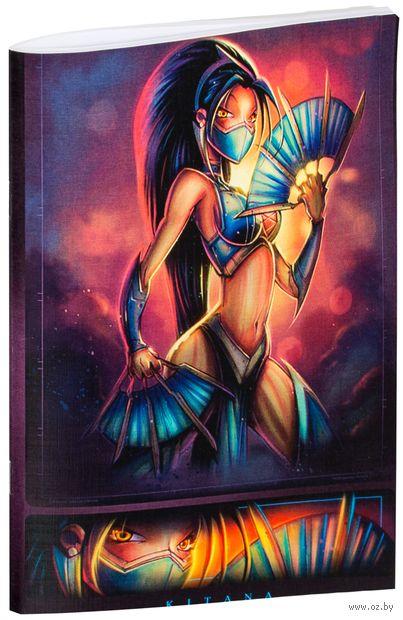"""Блокнот """"Mortal Kombat"""" (А5; арт. 918)"""