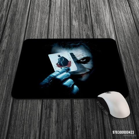 """Коврик для мыши большой """"Джокер"""" (арт. 423) — фото, картинка"""