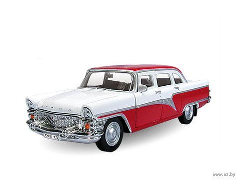 "Модель машины ""ГАЗ-13. Чайка двухцветная"" (масштаб: 1/43)"