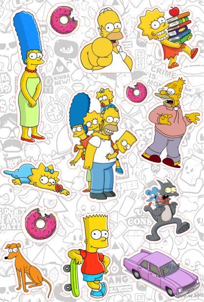 "Набор наклеек ""Симпсоны №12"" — фото, картинка"