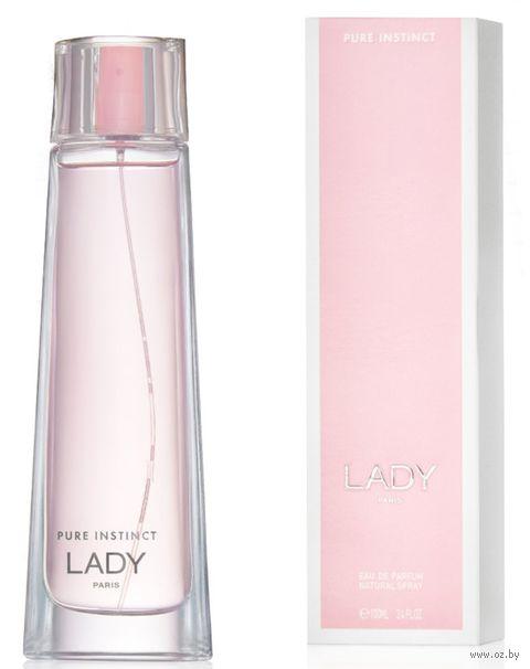 "Парфюмерная вода для женщин ""Pure Instinct Lady"" (100 мл) — фото, картинка"