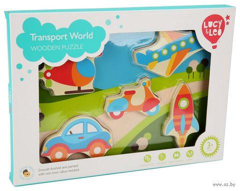 "Рамка-вкладыш ""Мир транспорта"" — фото, картинка"