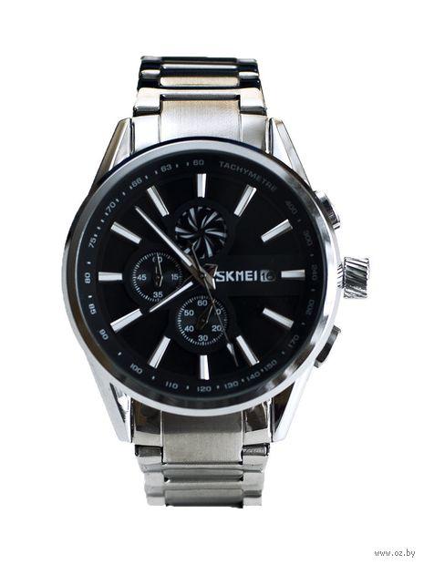 Часы наручные (чёрные; арт. 9175) — фото, картинка