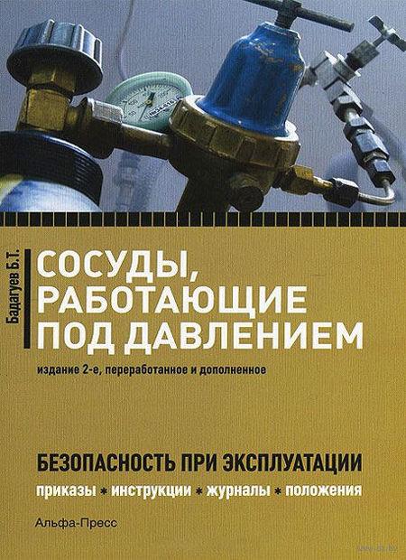 Сосуды, работающие под давлением. Безопасность при эксплуатации. Приказы, акты, журналы, графики, инструкции. Булат Бадагуев