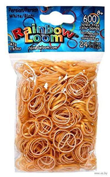 """Набор резиночек для плетения """"Rainbow Loom. Персидская коллекция. Белые"""""""