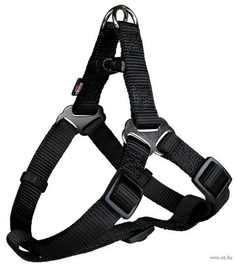 """Шлея """"Premium One Touch Harness"""" (размер L; 65-80 см; черный)"""