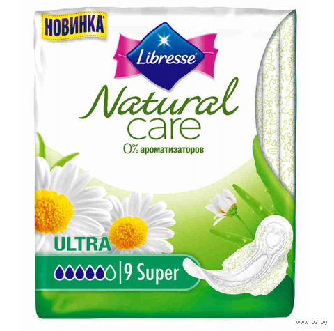 """Гигиенические прокладки """"Libresse Ultra Super"""" (9 шт.) — фото, картинка"""
