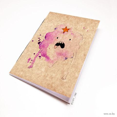 "Блокнот крафт ""Время приключений. Принцесса Пупырка"" (А7; арт. 287) — фото, картинка"