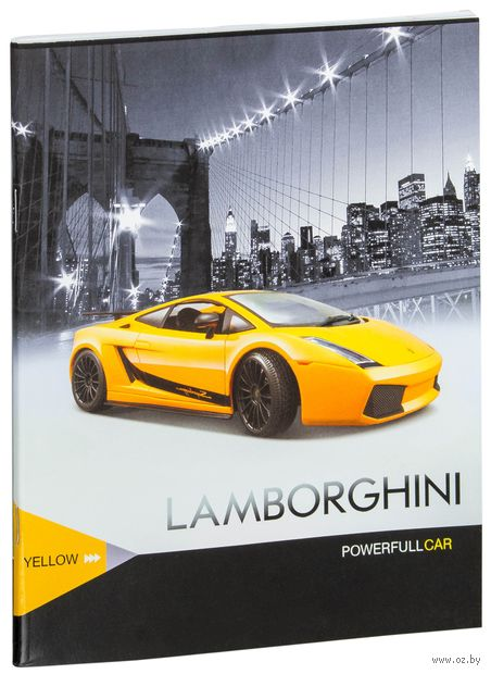 "Тетрадь в клетку ""Powerful Car"" (48 листов)"