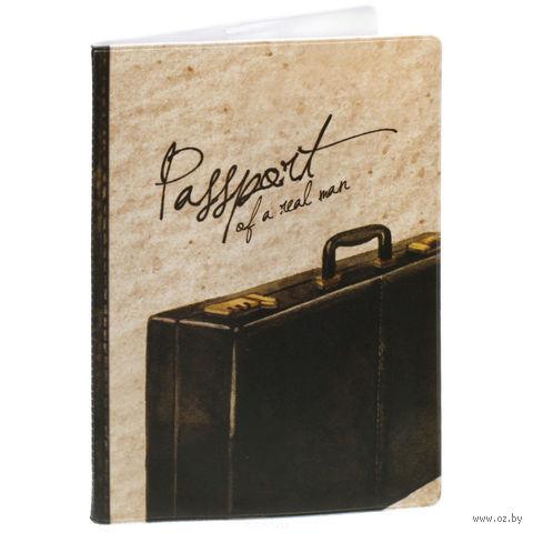 """Обложка для паспорта """"Дипломат"""" (арт. 37714) — фото, картинка"""