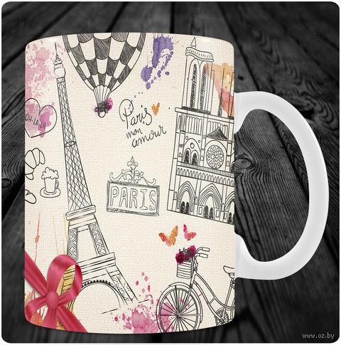 """Кружка """"Париж"""" (art.2)"""