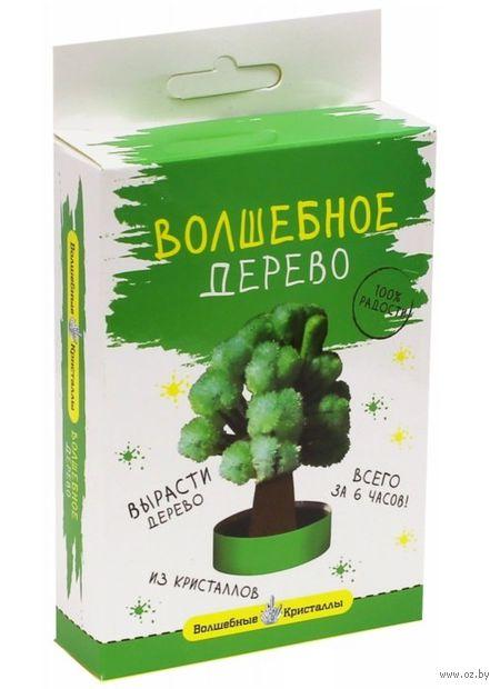 """Набор для выращивания кристаллов """"Дерево зеленое"""" — фото, картинка"""