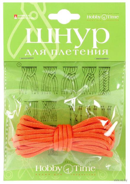 Шнур для плетения (3 м; оранжевый) — фото, картинка