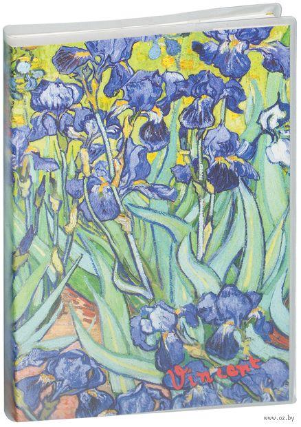 "Блокнот ""Ван Гог. Ирисы"" (А5) — фото, картинка"