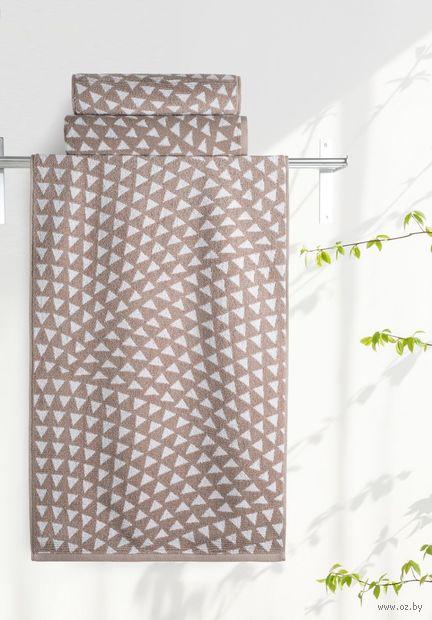"""Полотенце махровое """"Борнео. Треугольники"""" (35х70 см) — фото, картинка"""