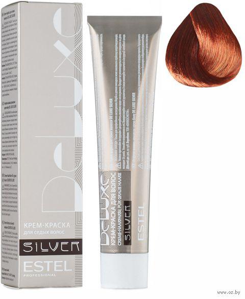 """Крем-краска для волос """"Sense De Luxe Silver"""" тон: 6/5, темно-русый красный — фото, картинка"""