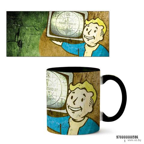"""Кружка """"Fallout"""" (596, черная)"""