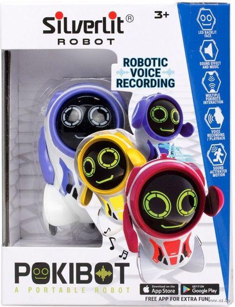 """Робот """"Pokibot"""" (фиолетовый; со световыми и звуковыми эффектами) — фото, картинка"""