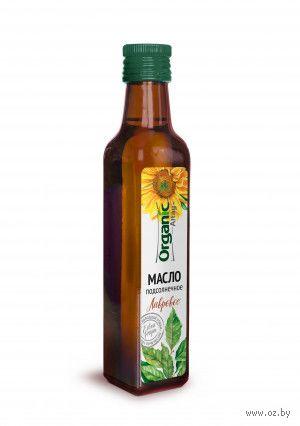 "Масло подсолнечное ""Organic Altay. Лавровое"" (250 мл) — фото, картинка"