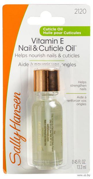 "Масло для ногтей ""Vitamin E nail and cuticle oil"" (13 мл)"