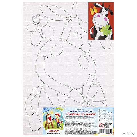"""Набор для рисования """"Рисование на холсте"""" (арт. DV-7890) — фото, картинка"""
