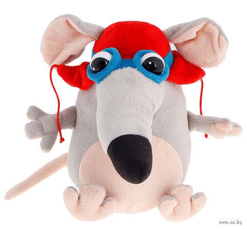 """Мягкая игрушка """"Мышка-пилот"""" (25 см) — фото, картинка"""