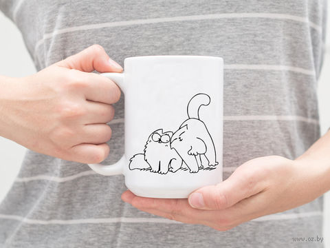 """Кружка """"Коты Саймона"""" (арт. 019) — фото, картинка"""