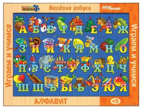 """Деревянный пазл """"Азбука в картинках"""" (33 элемента) — фото, картинка"""