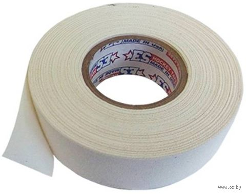 Лента хоккейная для крюка ES2418W (24 мм; 18,3 м; белая) — фото, картинка