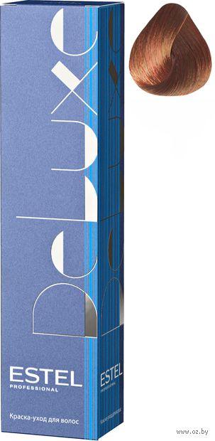"""Краска-уход для волос """"Estel. De Luxe"""" тон: 5/45, светлый шатен медно-красный — фото, картинка"""