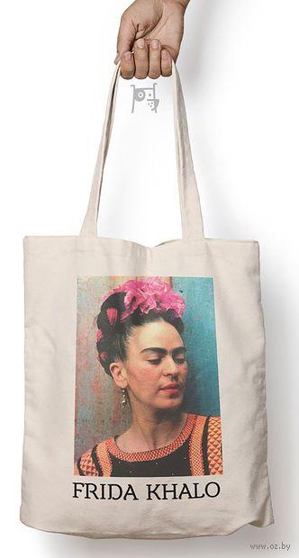 """Сумка-шоппер """"Фрида Кало"""" — фото, картинка"""