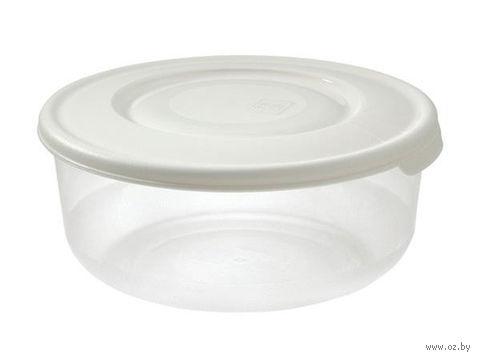Контейнер пластмассовый термостойкий круглый (1,7 л)