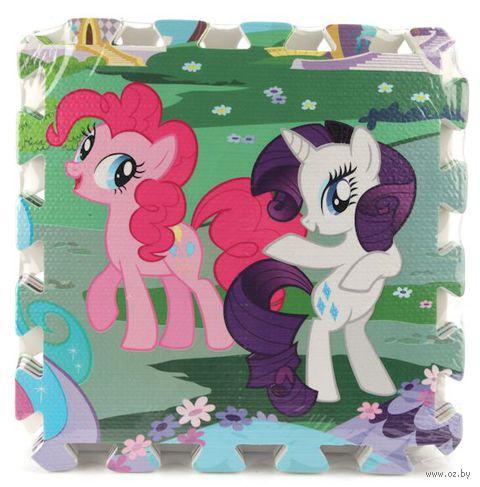 "Пазл-коврик ""My Little Pony"" (8 элементов) — фото, картинка"