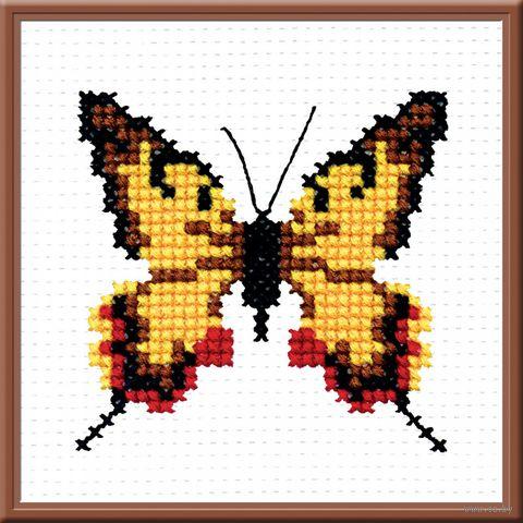 """Вышивка крестом """"Бабочка"""""""